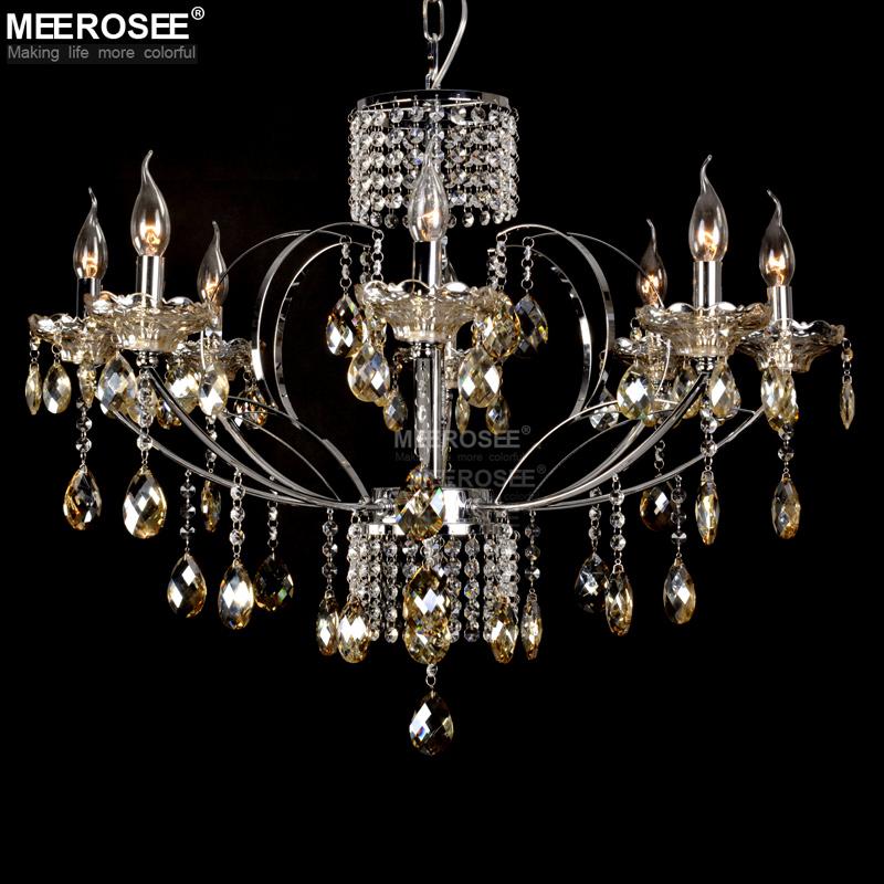 Objetos De Decoracion Por Mayor ~ moderna venta al por mayor Cognac cristal gota luz accesorio para