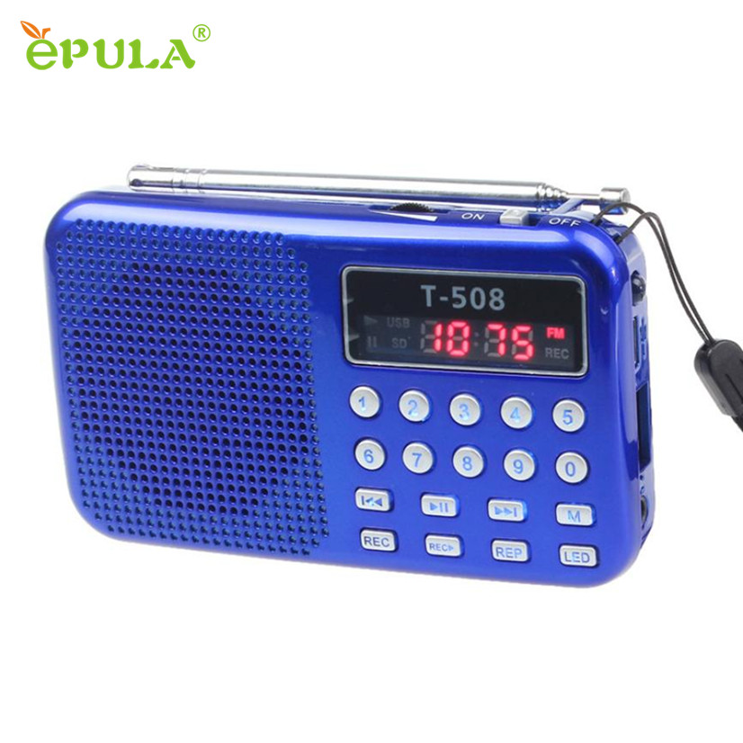 Factory Price Portable TF Card Speaker LED Screen USB FM Radio with Built-in Mic Hands-free Good for bass HIFI Sound Speakers(China (Mainland))
