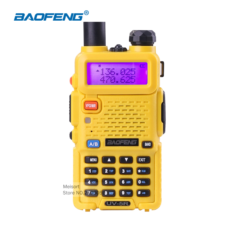 1 Set Portable Radio BaoFeng UV-5R Dual Band VHF/UHF136-174Mhz&400-520Mhz Two Way Radio Walkie Talkie Amateur Radio Comunicador(China (Mainland))