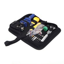 YCYS Portable 144 pcs Watch Repair Tool Kit Watchband Link Remover & Zip Case Watchmaker(China (Mainland))
