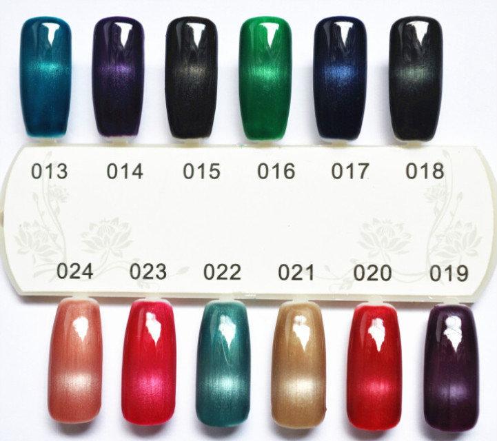 Choose 5pcs Professional Nail Uv Gel Cat Eye Gel Polish Magnetic Nail Tool Cheap Uv Gel(China (Mainland))