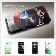 Силиконовый чехол бампер для Samsung Galaxy J5 J500 с рисунком на выбор