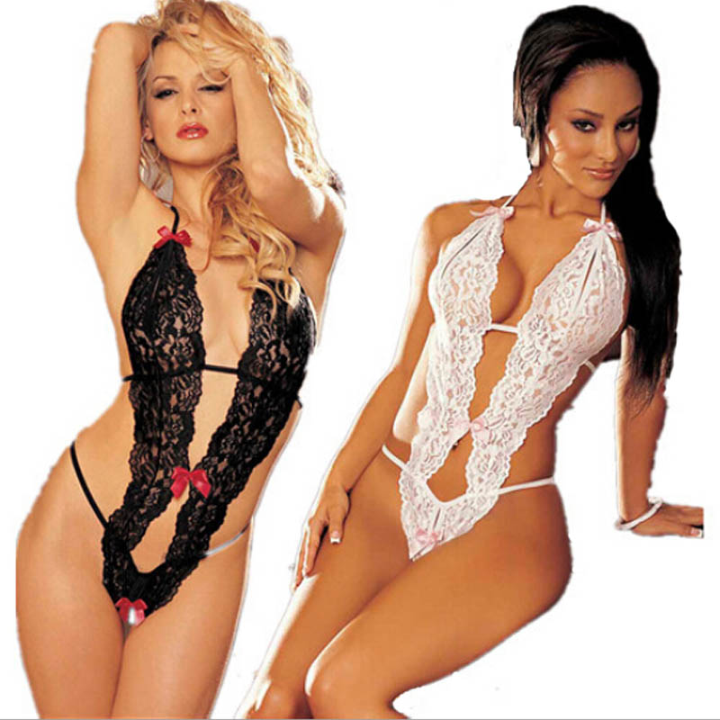 SIF Lace Lady Underwear Nightwear Sleepwear font b Babydoll b font Dress Jumpsuits lingerie MAR 30