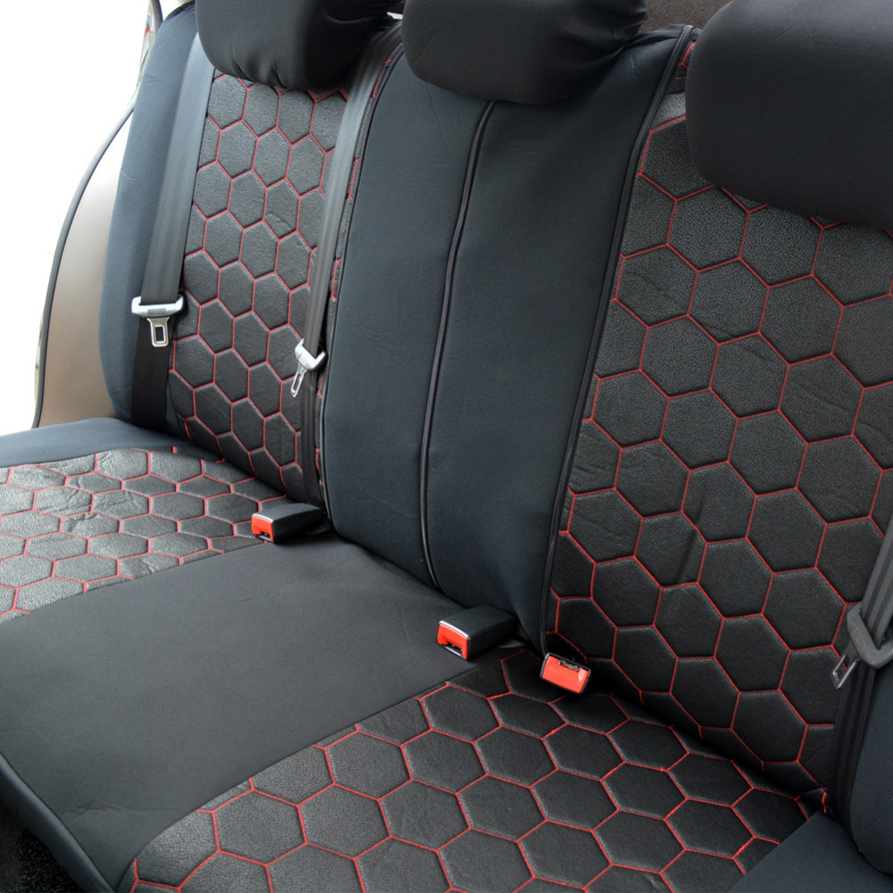 20 27day delivery autoyouth soccer ball style jacquard full car seat covers set universal fit. Black Bedroom Furniture Sets. Home Design Ideas