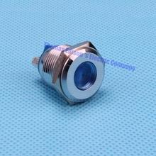 16mm Indicator Light Metal brass Signal Lamp red/green/yellow/orange/blue/white(China (Mainland))