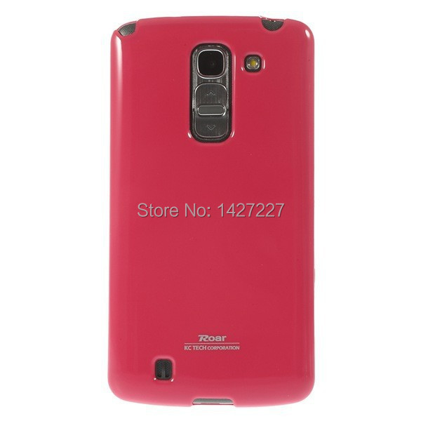 1 PCS Roar Korea Dream Jelly Glossy Flex TPU Gel Cover For HTC One M8 9 Colors Free Shipping(China (Mainland))