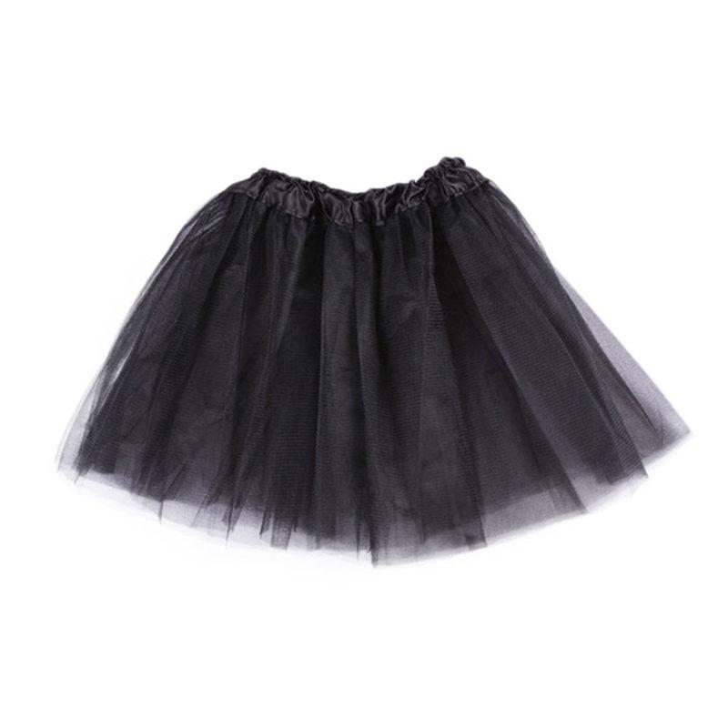 baby girl tutu skirt ballet infantil chiffon solid children girls skirts gonna tulle bambina great - MOON HALO store