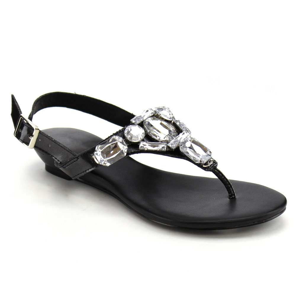 Kitten Heel Slingback Sandals