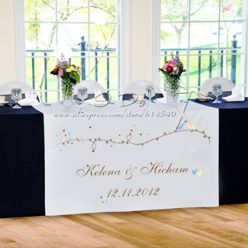 table for wedding reception
