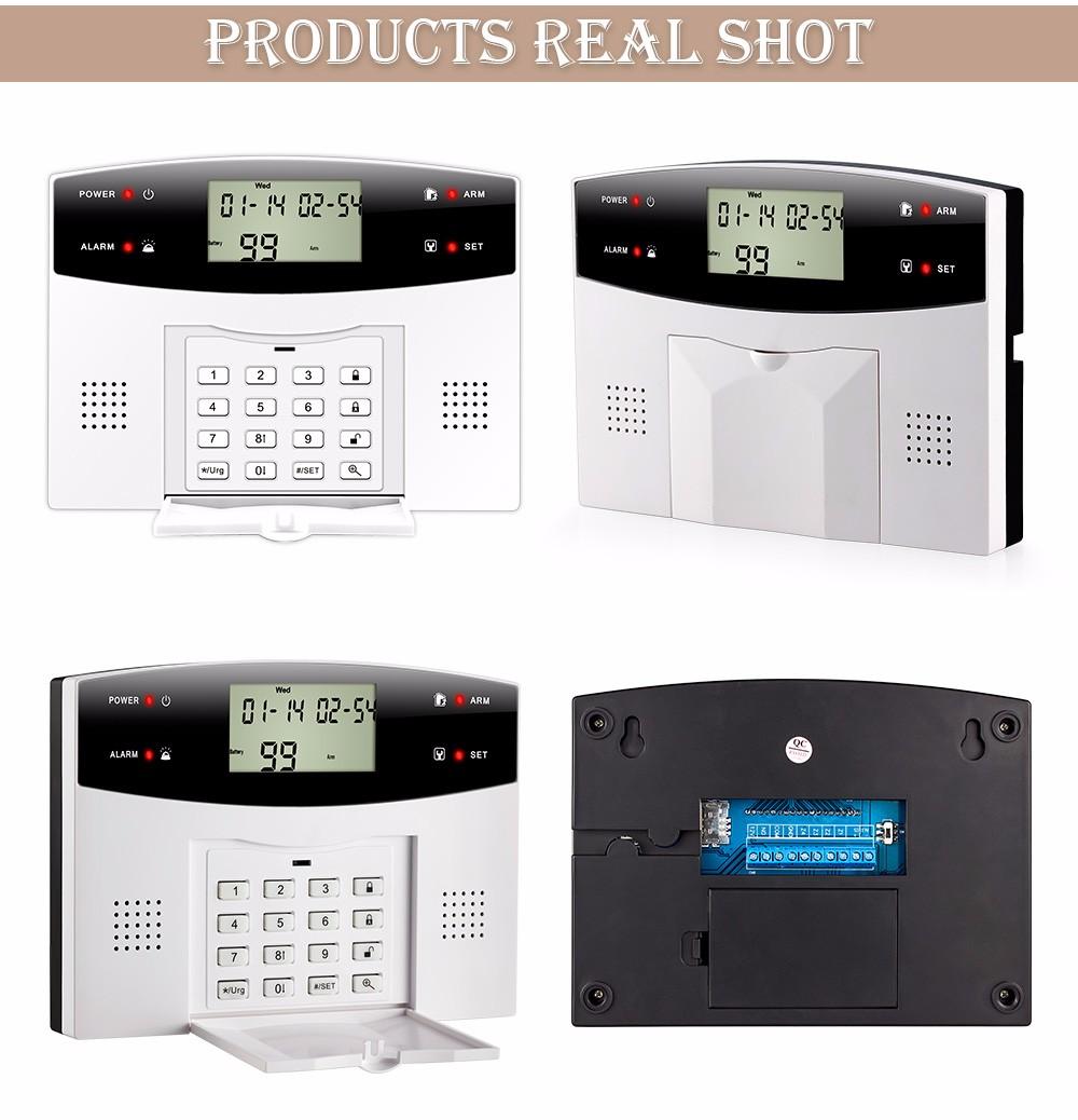 High quality!433mhz Sensor 103 Zones GSM/PSTN SMS Home ...