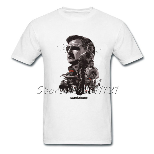 The Walking Dead T Shirt – Short Sleeve Round Neck Tee