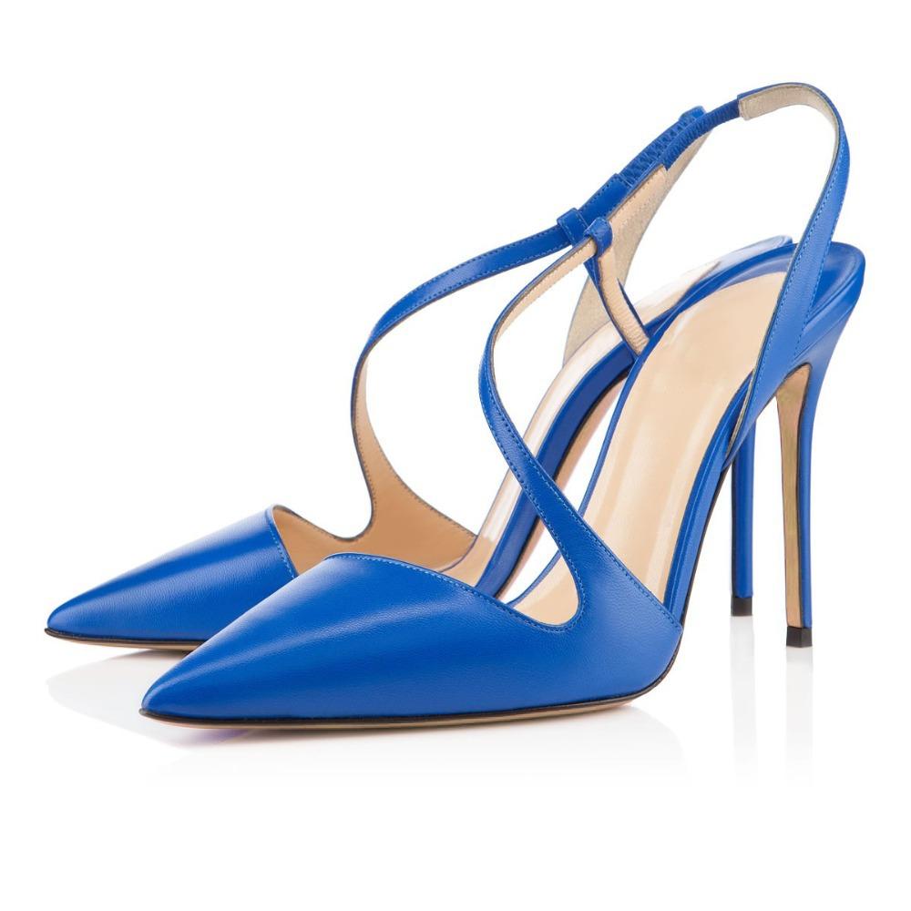 Cheap Blue High Heels
