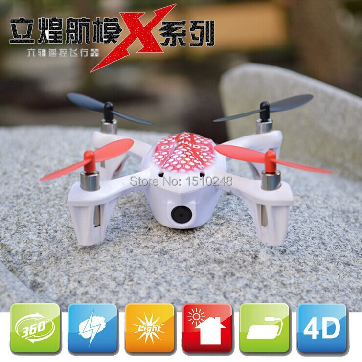 LH-X2 2.4G 4CH Remote Control RC Mini 4 Axis UFO Aircraft R/C Toys Built-in Gyro RTF Quad Helicopter LED Light plane with Camera(China (Mainland))