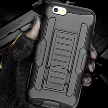 """Man Case 3 Layers Armor Cover for Apple iphone 5 5S SE / 6 6S 7 / Plus 5.5"""" Hard Plastic Tough Phone Shell Bags + Stand Display(China (Mainland))"""