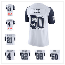 New Men's 2016 Stitiched #21 Ezekiel Elliott #4 Dak Prescott Emmitt Smith #50 Sean Lee #82 Jason Witten #88 Dez Bryant(China (Mainland))