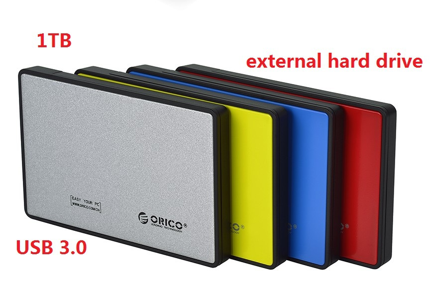 100% NEW external portable Hard Drives HDD 1TB (1000GB)/500gb USB3.0 1t Desktop and Laptop mobile disk genuine(China (Mainland))