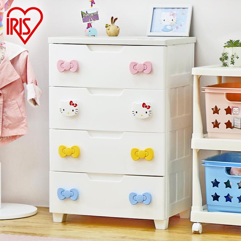 Alice IRIS Hellokitty closed cabinet finishing cabinet drawer storage cabinets baby wardrobe KMG-554(China (Mainland))