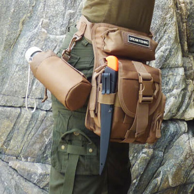 Free Shipping Hot sale 27*24*11cm Waterproof Fishing Tools bag Multifunctional Fishing Tools Bag <br><br>Aliexpress