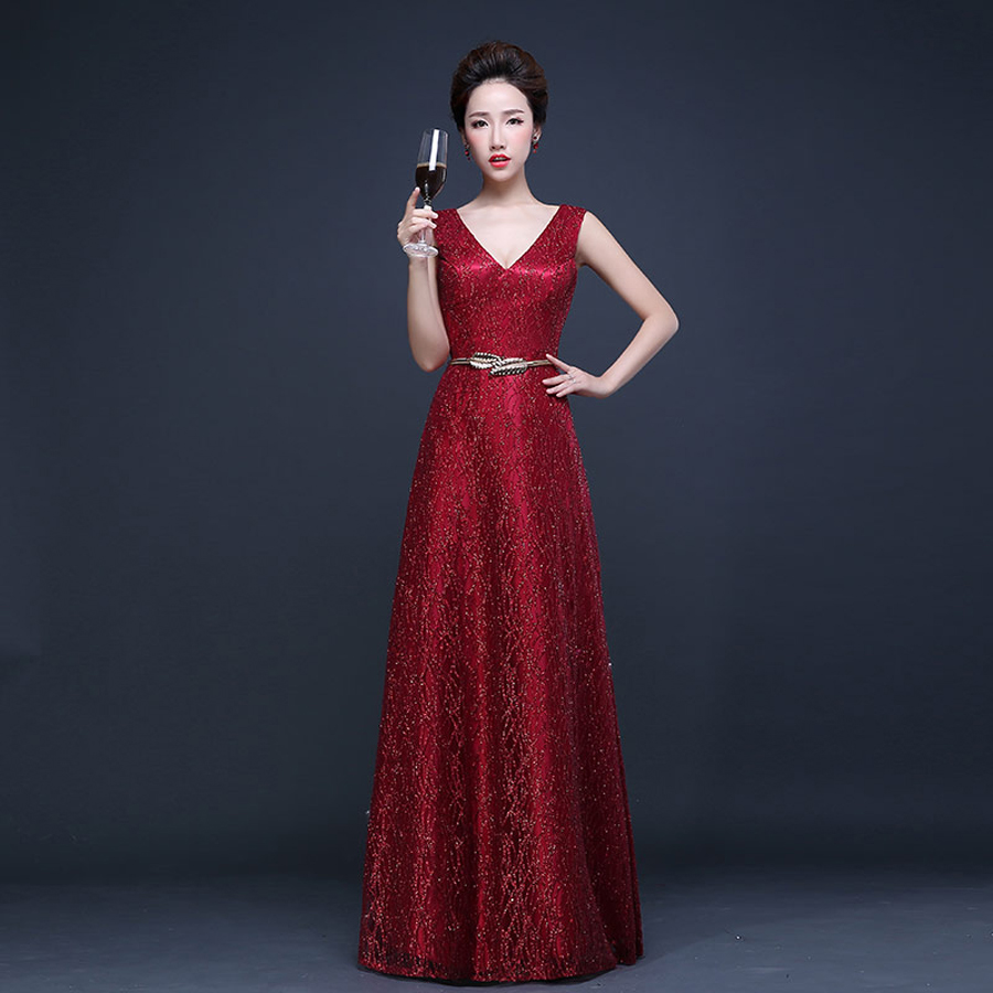 Crimson Bridesmaid Dresses