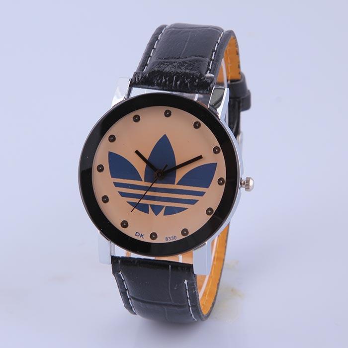 2015 Lover Alloy Quartz Movement Women Men Watch Hot Sale Fashion Vintage Leather Strap Casual Wristwatch