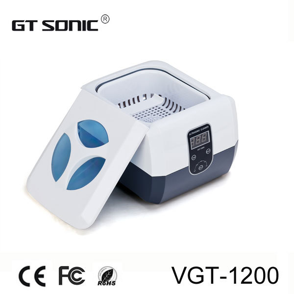 Dental clinic ultrasonic cleaner 1.3L with bath cleaning , 110V, 220V VGT-1200(China (Mainland))