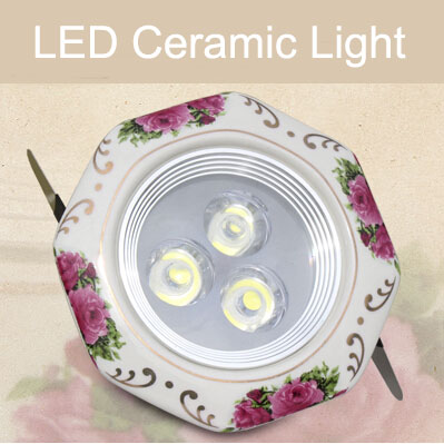 lampadas led Rose Pattern High power LED Light ceramic spotlights 3w ceiling lighting,CE&amp;ROHS,warranty 2 years,for kitchen<br><br>Aliexpress