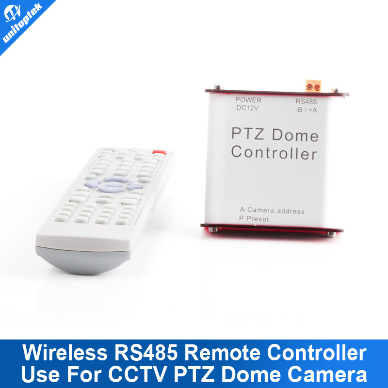 Wireless PTZ Dome RS485 Infrared Remote Controller for PTZ Camera(China (Mainland))