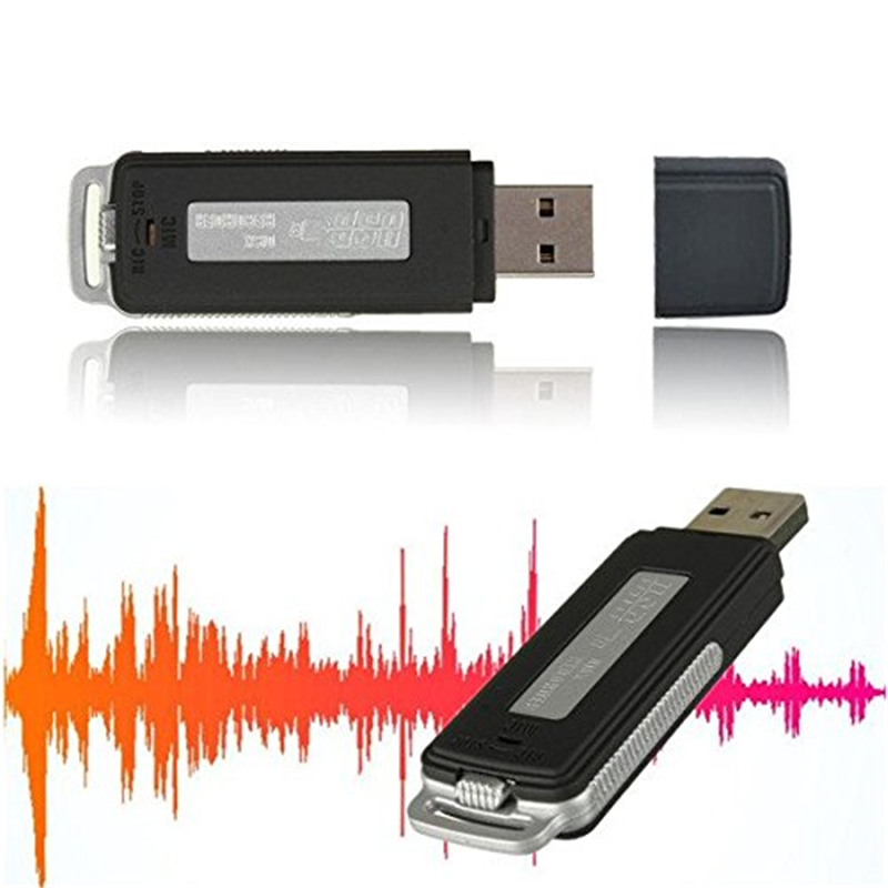 8GB Multifunctional Digital Voice Recorder Rechargeable USB 2.0 Flash Drive + Audio Voice Recorder(China (Mainland))
