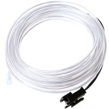 EL Products LED Strip White Flexible Neon Light High Quality EL Wire Rope Tube with Controller(China (Mainland))
