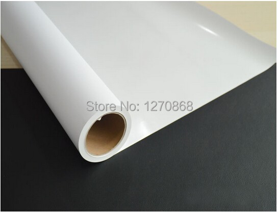 "110g 36""*50m printable self adhesive vinyl film roll for car sticker(China (Mainland))"