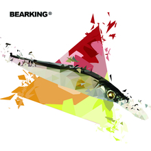 2017 BEARKING NEW fishing lures, assorted colors, minnow crank 11cm 14g,tungsten weight system. hot model crank bait 10 colors(China (Mainland))