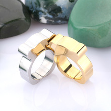 High Quality Titanium Steel Bear Ring For Women Fashion 18K Gold Silver  Plated Fine Jewelry Best Gift  Free Shipping