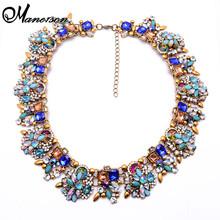 Nueva Za marca moda Shourouk Crystal collares y colgantes vestuario gargantilla joyas Collar llamativo Collar B131