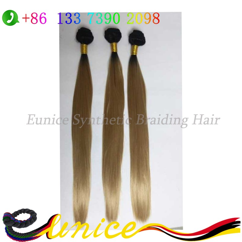 "20"" brazilian human straight hair weft cheap syntehtic party girl hairstyle black women pure single color synthetic hair piece"