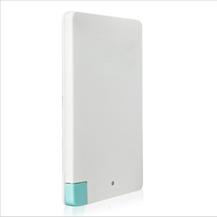 FPO-PB-N037-2015 1500-2600mAh Card type mobile power supply universal portable power bank(China (Mainland))