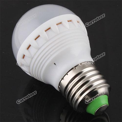 Lailabest new New 220V E27 15 LED 5630 SMD 4.3W Pure White Light Bulb Lamp Professional!(China (Mainland))