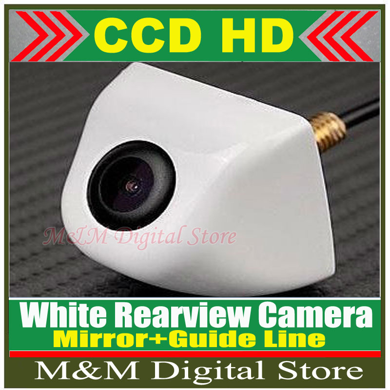 Factory Selling CCD HD Rearview Waterproof night vision 170 degree Wide Angle Luxur car rear view