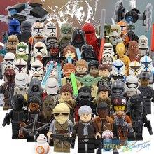 Star Wars 7 The Force Awakens Legoes Star Wars Minifigures With bb8 BB-8 Spaceship Clone Darth Vader R2D2 C3PO Star Wars Figure(China (Mainland))