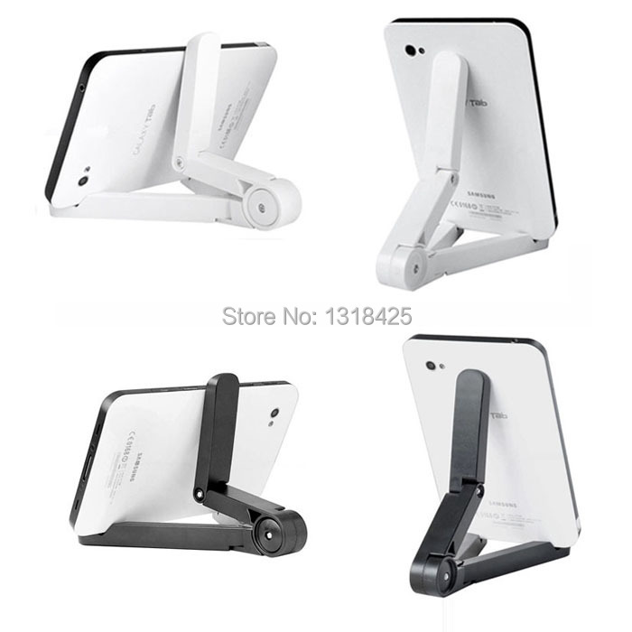Black and White Color Available Portable Fold-UP Stand Holder For 7-10 inch Tablet PC IPad Mini Stand IPAD AIR stand(China (Mainland))