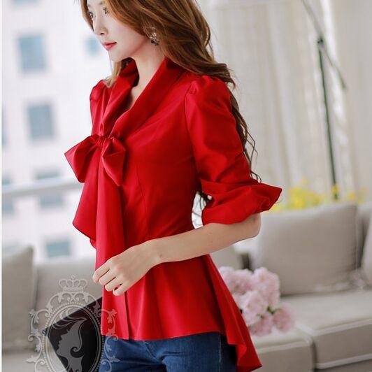 2014 autumn shirt female women top chiffon blouseОдежда и ак�е��уары<br><br><br>Aliexpress