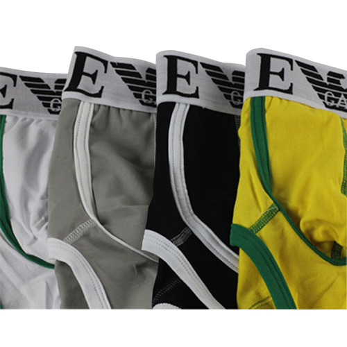 HOT Sales Fashion High quality Men's Boxer shorts Men's Underwear Cotton Boxer Men's Cotton Underwear 4 Pc/Lot Free Shipping(China (Mainland))
