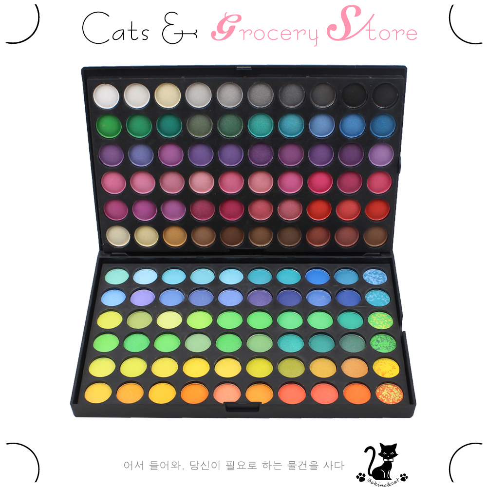 New 120 eyeshadow palette 120 Full Colors Eyeshadow Cosmetics Mineral Make Up Professional Makeup Eye Shadow Palette eye glitter(China (Mainland))