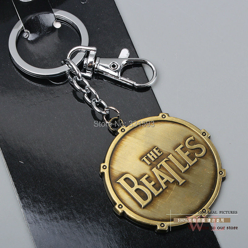 Rock Band Beatles Keychains Key Chain Metal Pendants Ring ANPD1208 - WXY-TOY LTD store