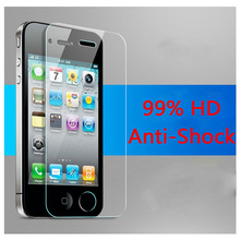 4s on the protective glass Premium Tempered Glass Screen Protector for iPhone 4 4S Toughened protective film with