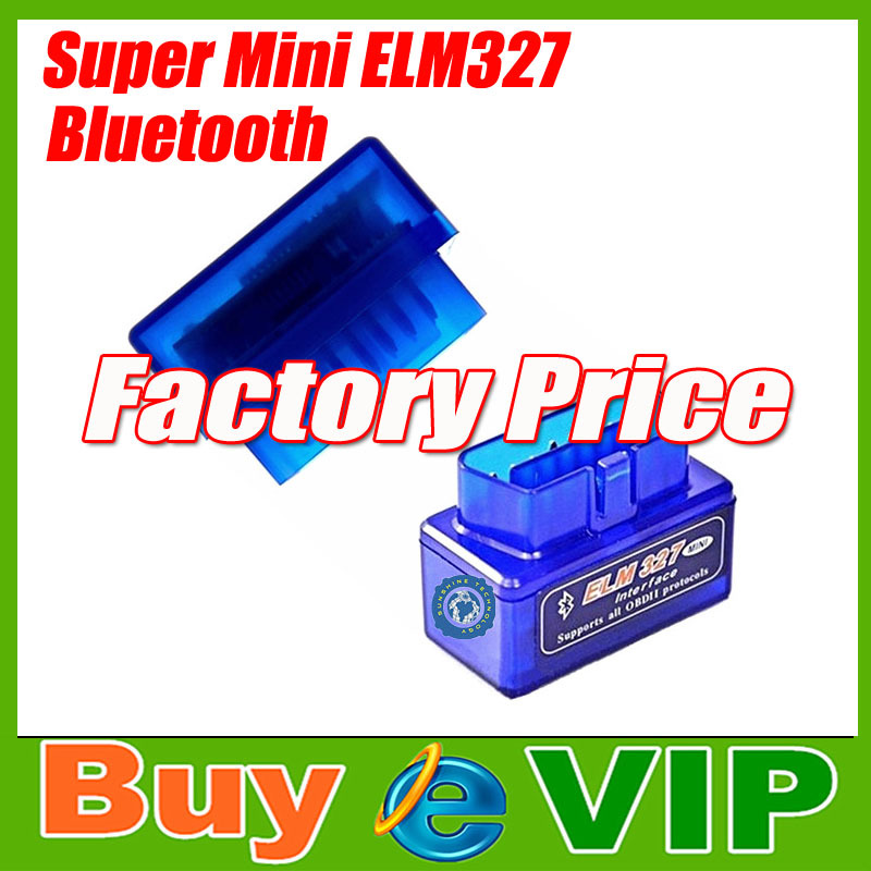 2014 Latest Version V2.1 Super mini elm 327 Bluetooth OBDii / OBD2 Wireless Mini elm327 Works on Android Torque Free Shipping(China (Mainland))