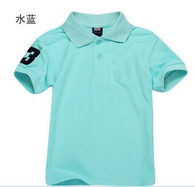 Boy Polo Shirt Short Sleeve Kids t Shirts Summer 100% Cotton Child Fashion Shirts kids clothes(China (Mainland))