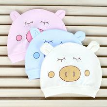 Baby Hat Spring Autumn Unisex Colors Cotton Infant Hats Children Cartoon Baby Animal Cap