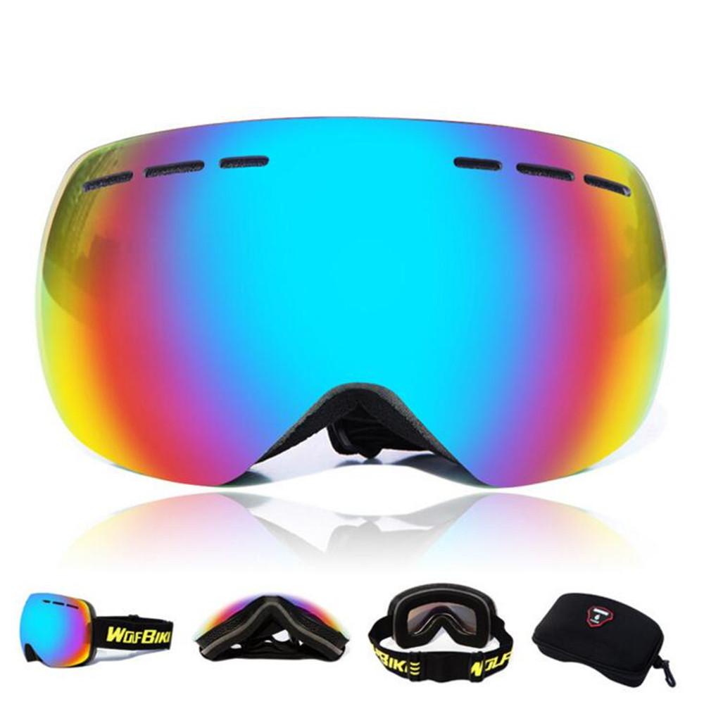 snowboard glass Snow Skiing goggles Gafas de esqui motorcycle eyewear lunette de ski homme men women cycling snow skiing googles(China (Mainland))