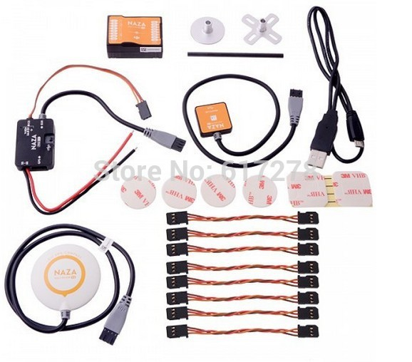 2015 wholesales 4 Sets/Lot DJI Naza M V2 Flight Controller with GPS All-in-one Design (Naza-M V2) to DJI RC Quadcopter<br><br>Aliexpress