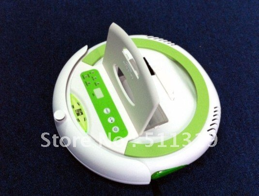 robot vacuum cleaner/vacuum cleaner/robotic cleaner, auto work/recharge, remote control/LCD display, 2500mA battery, UV ray